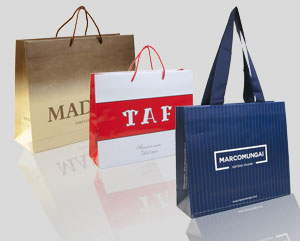 Shopping Bags serie Lux
