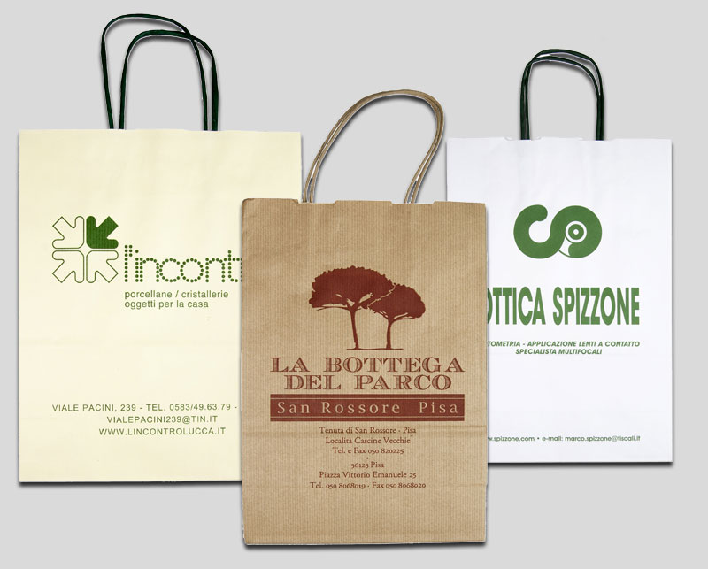 Shopping Bags serie Economy