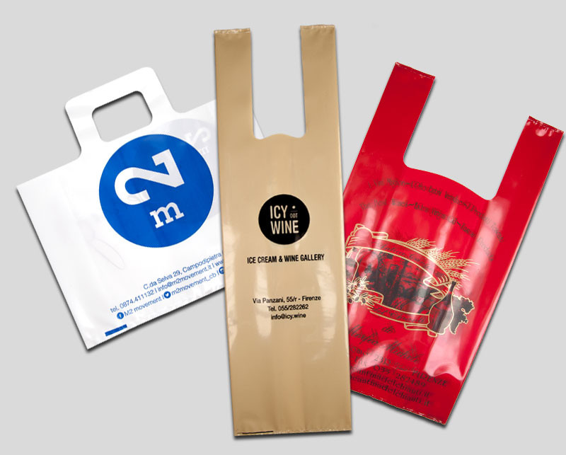 Shopping Bags Ld o Hd biodegradabili